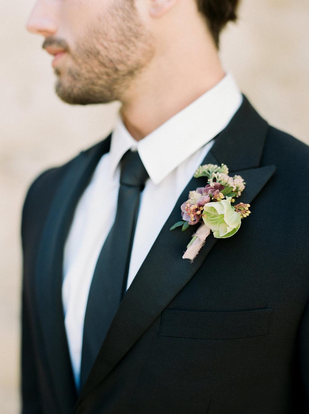 Spanish Mission Style Wedding Ideas Summer Flowers Finding Flora San Juan Capistrano European Venues California Groom Boutonniere