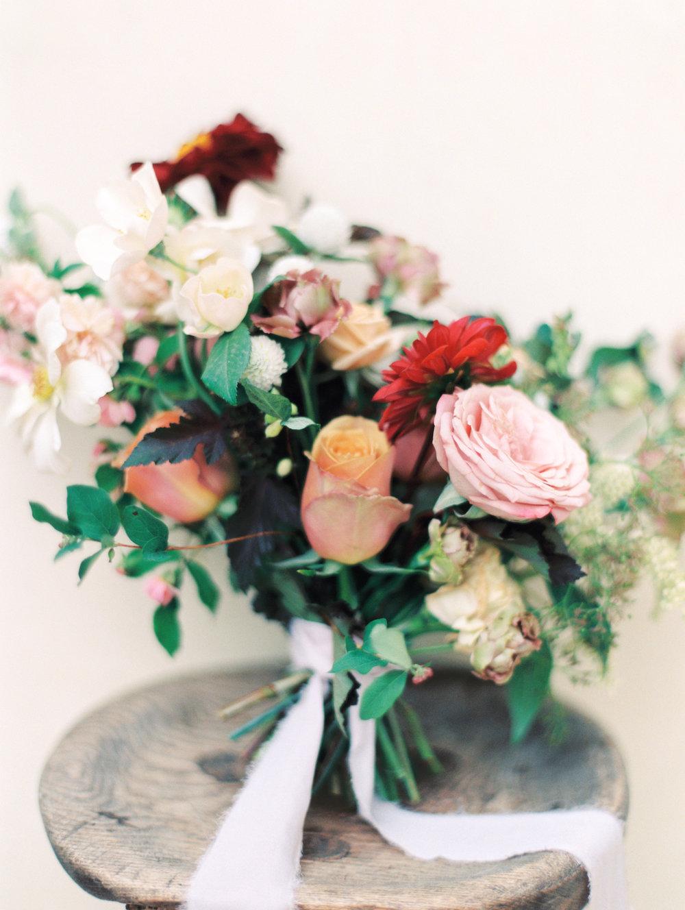 Bridal Bouquet Fine Art Late Summer Finding Flora Melanie Osorio