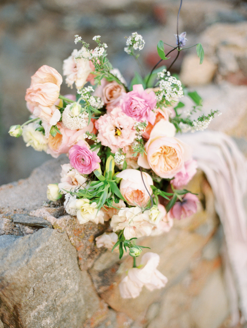 Spring Wedding Bridal Bouquet Finding Flora California Lush Garden Style Fine Art