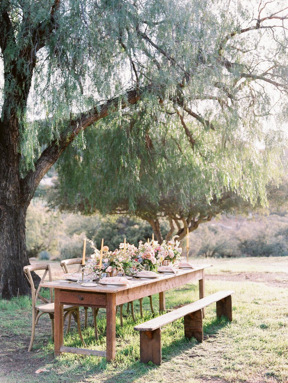 Tablescape Reception Fine Art Wedding California Flowers Florist Finding Flora