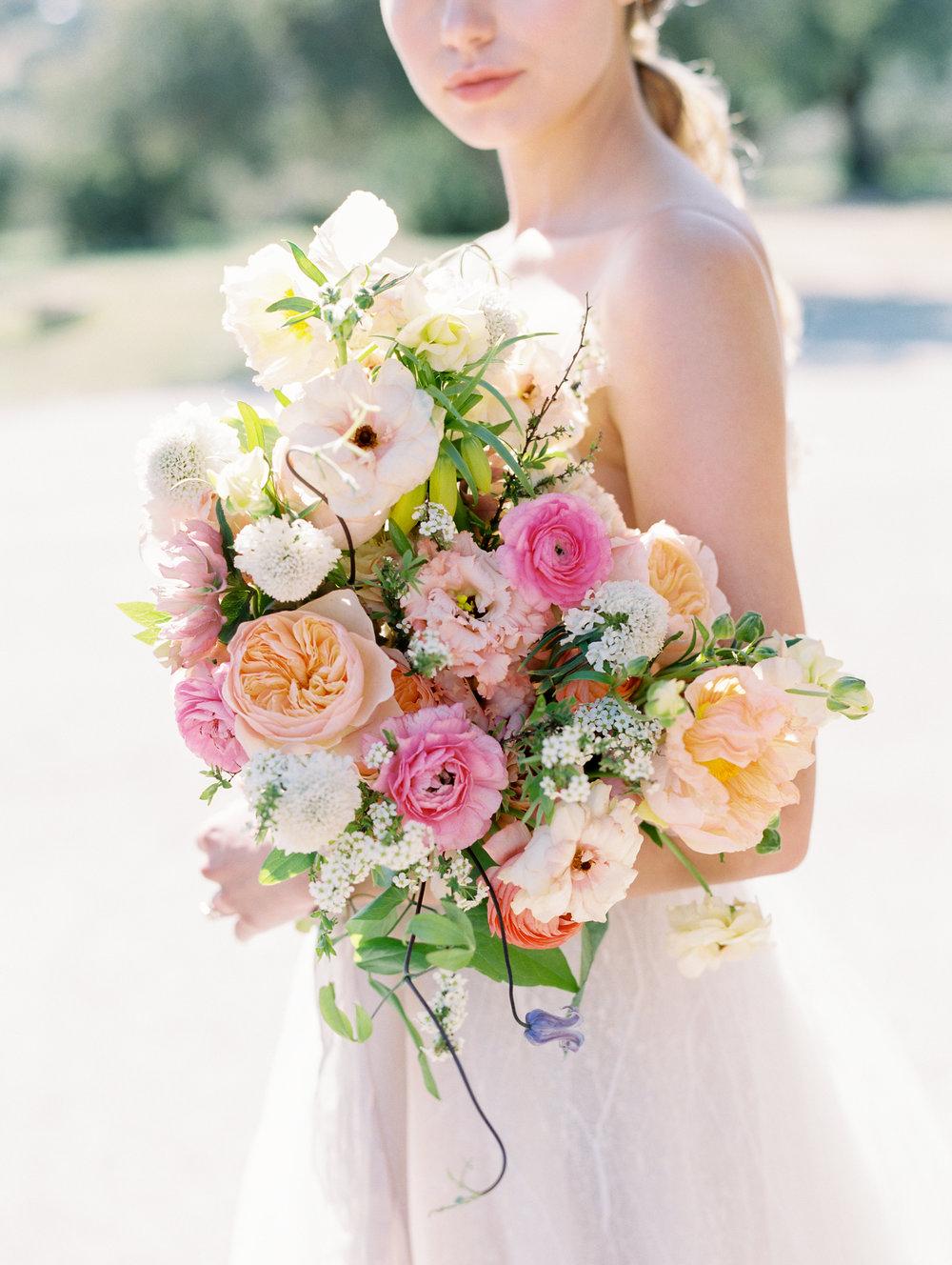 Bridal Bouquet Spring Flowers Finding Flora St. George Utah Wedding Florist California