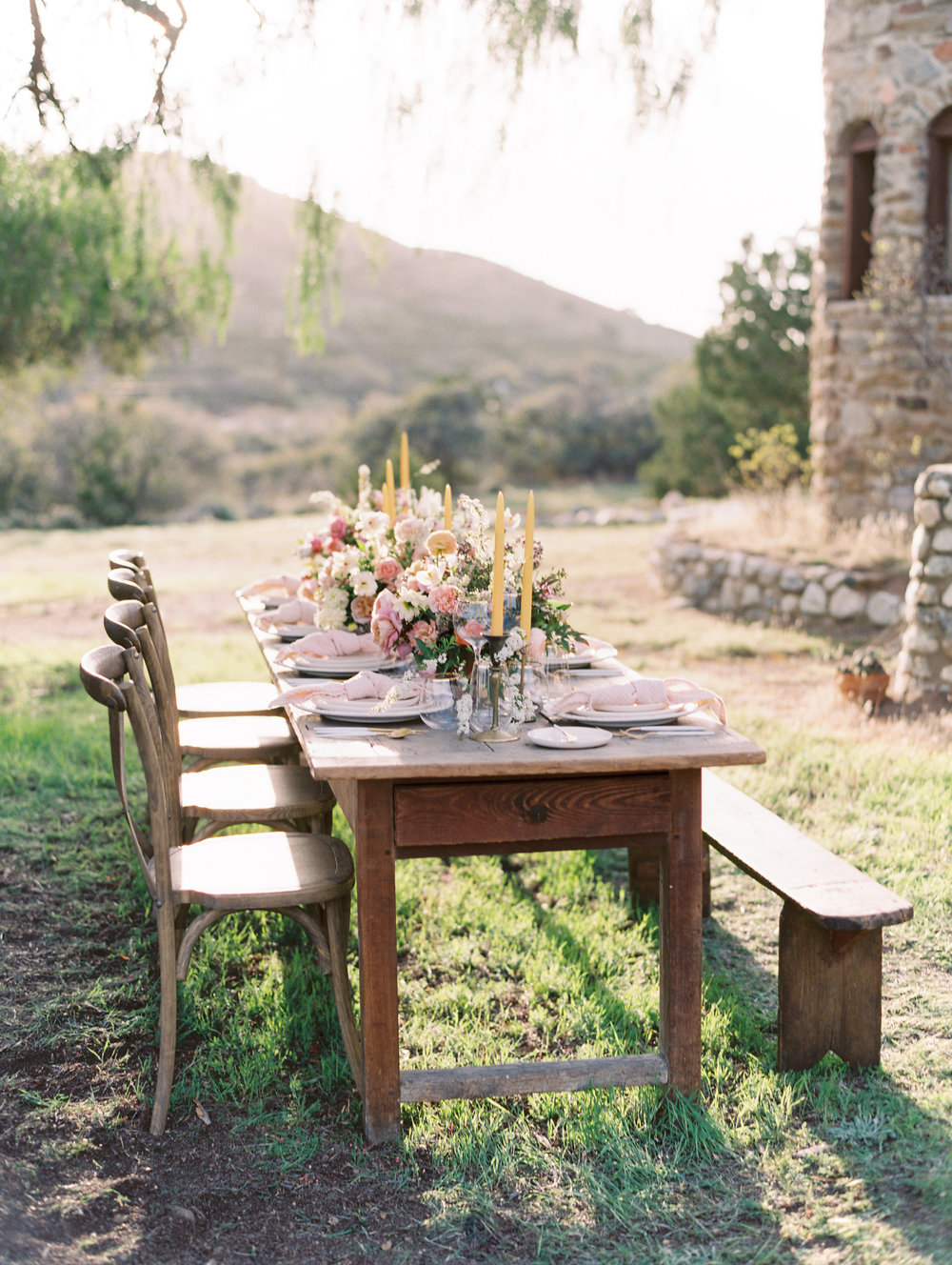 Wedding Table Reception Flowers Finding Flora Fine Art Spring St. George Utah California