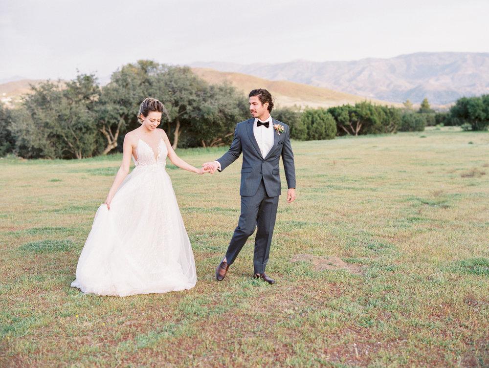 Bride and Groom Romantic Wedding Flowers Finding Flora