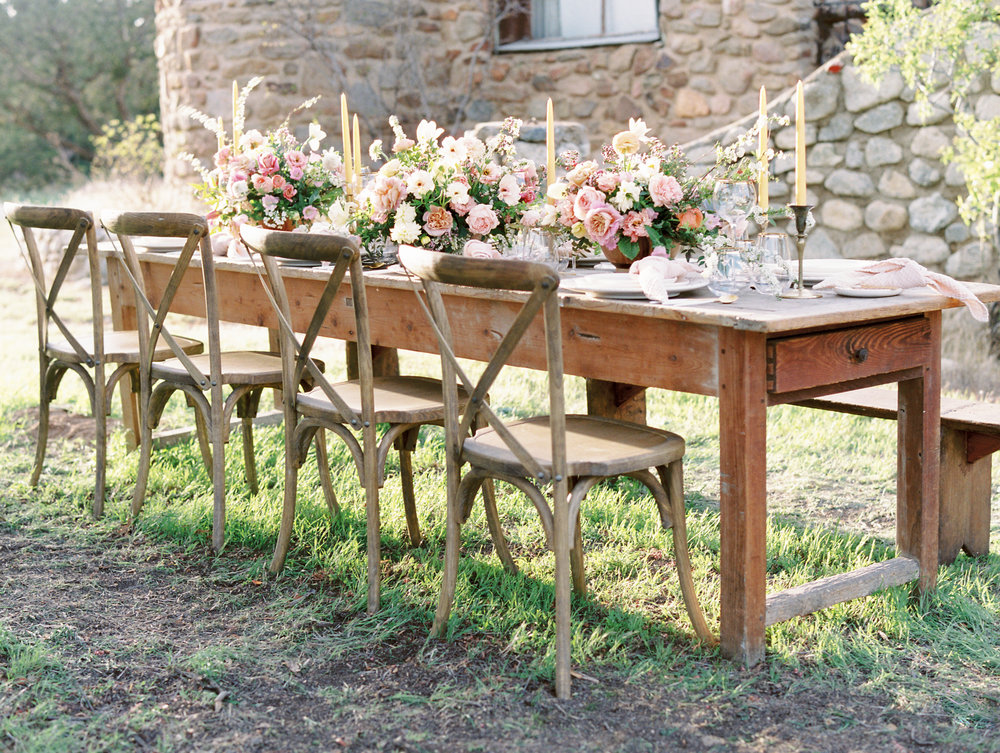 Romantic Luxury Wedding Table Centerpieces by Finding Flora flowers