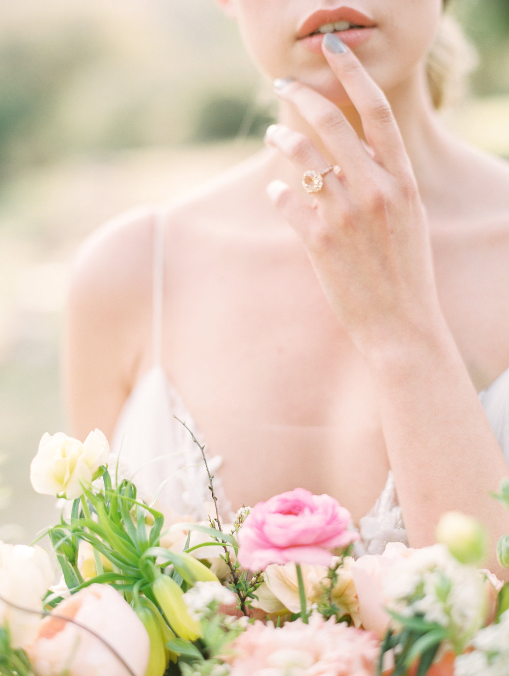 Bridal Bouquet Fine Art Wedding Flowers by Finding Flora