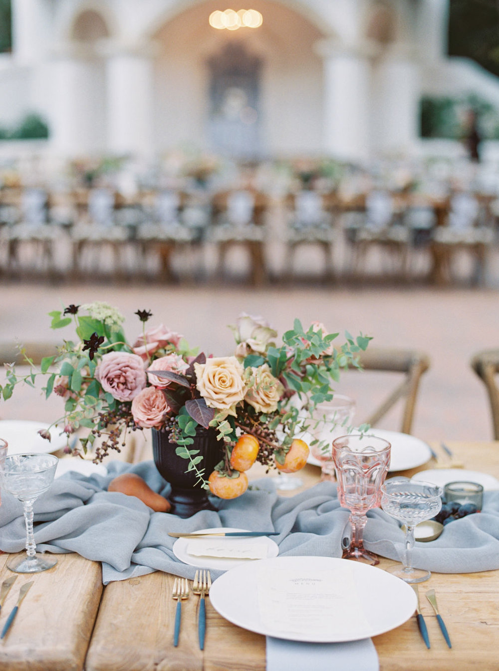 Autumn Wedding Flowers by Megan Wise