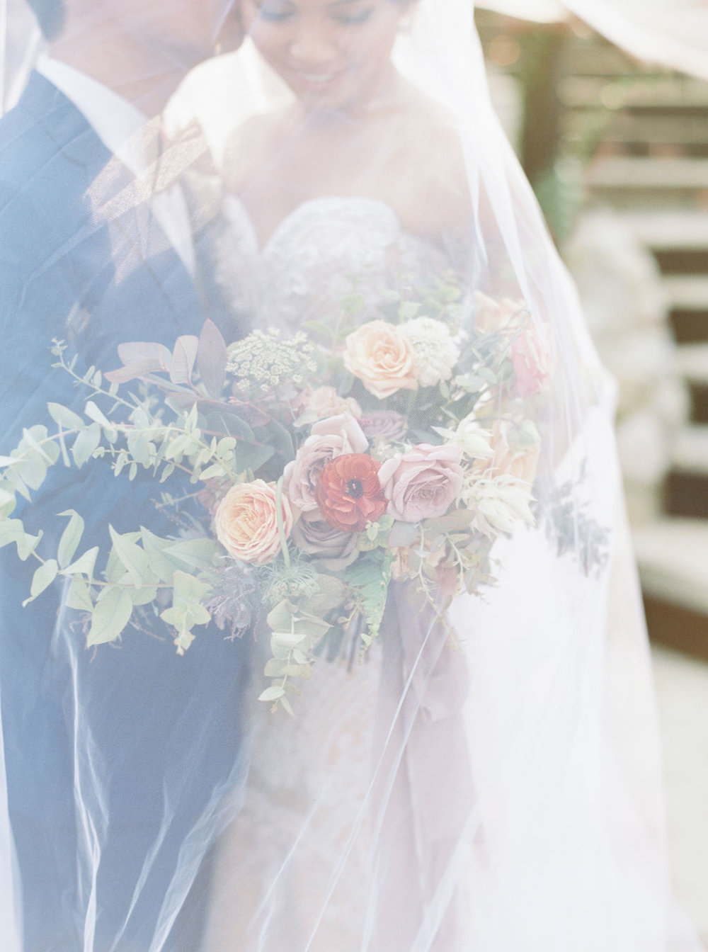 Bride and Groom Flowers by Finding Flora
