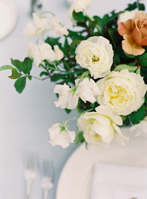 Fine Art Wedding Centerpieces by Finding Flora