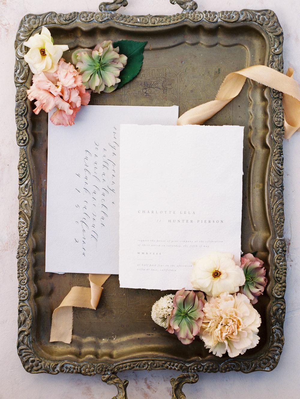 FLOURISH CALLIGRAPHY - WEDDING INVITATIONS & CALLIGRAPHY