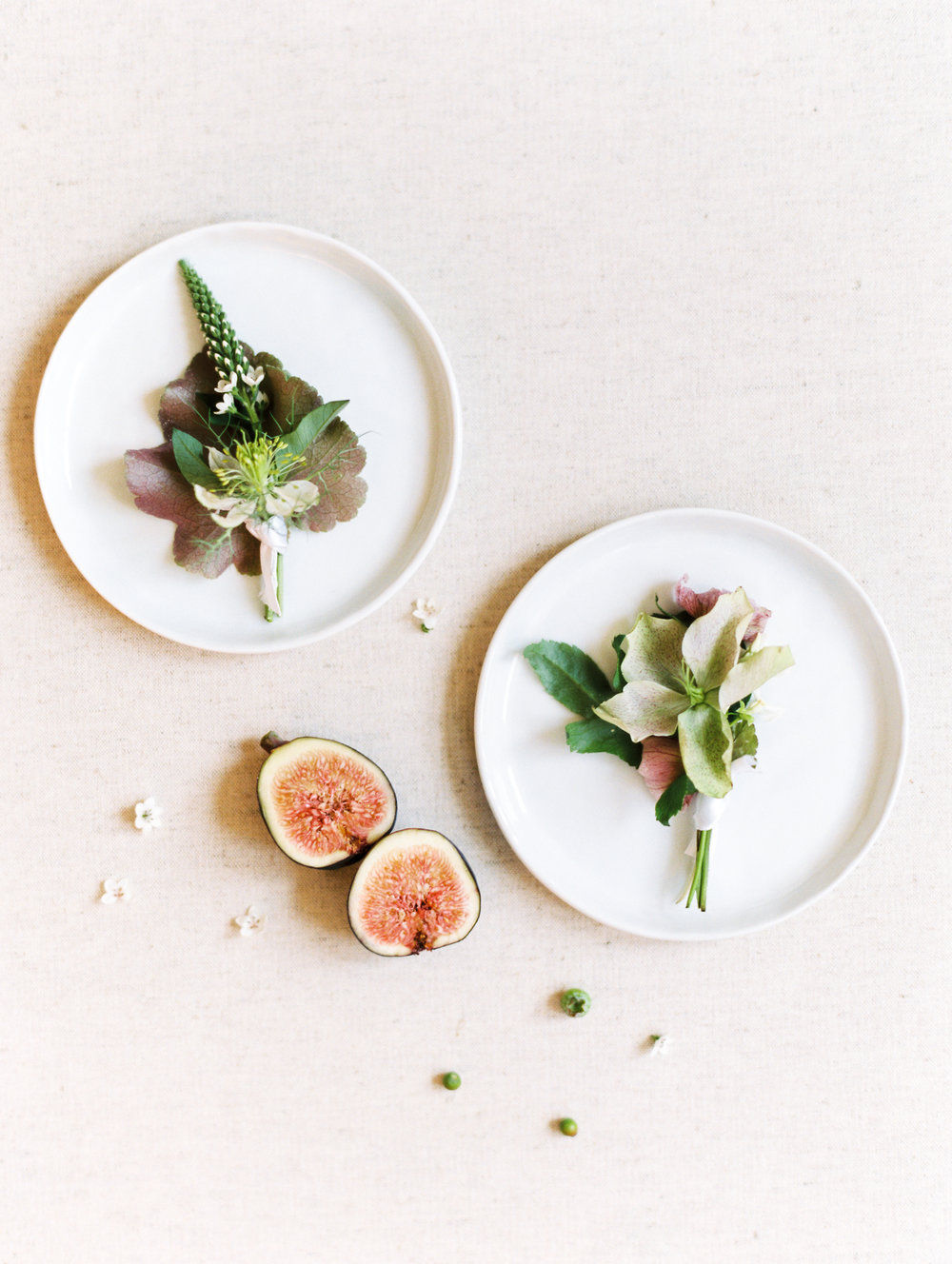 Modern Boutonnieres by Finding Flora