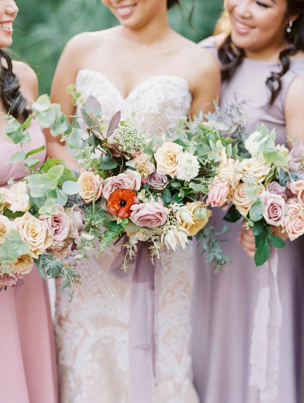 STYLE ME PRETTY FEATURE - A lush, autumn wedding with stone fruit accents at Rancho Las LomasVIEW NOW
