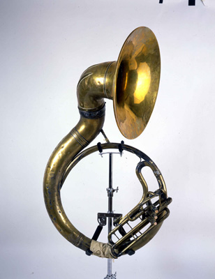 1978.118A.138 Sousaphone played by Wilbert Tillman of the Eureka Brass Band