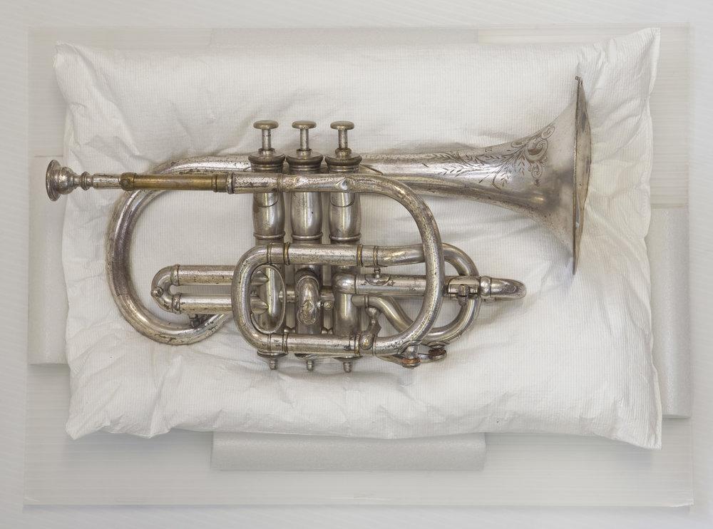Bix Bierderbecke's cornet, 1978.118(A).050