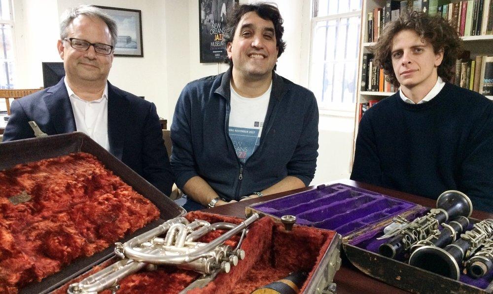 Greg Lambousy, David Kunian &Emanuele Marconi