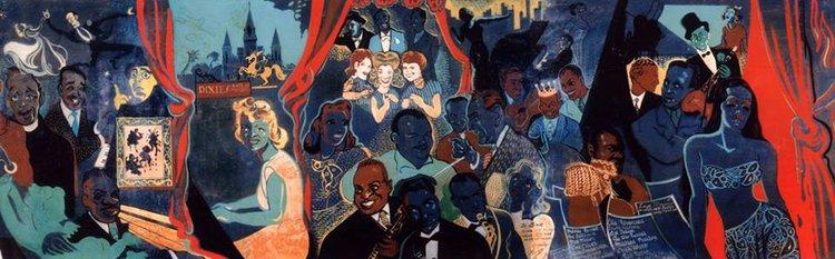 Xavier Gonzalez Mural Unveiling New Orleans Jazz Museum