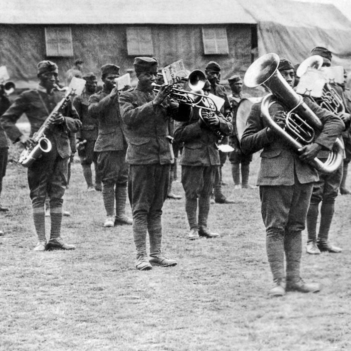 Jazz En Route To France - Examining how African-American military bands stationed in France helped popularize jazz in Paris during World War I.