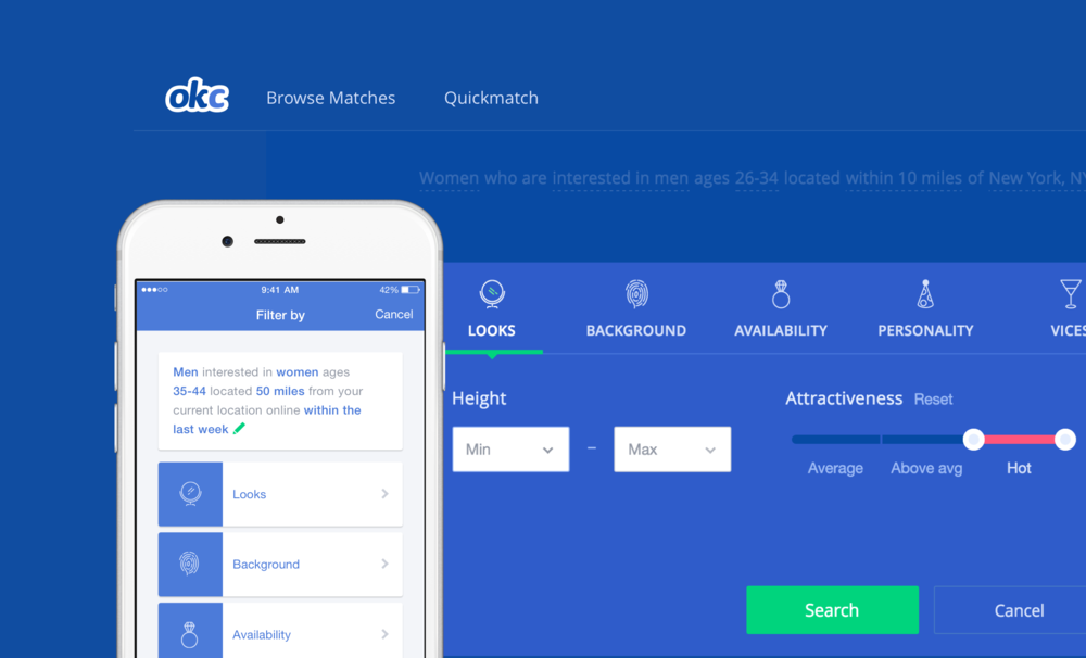 Okcupid mobile application  OkCupid: Online Dating App  2019-03-15