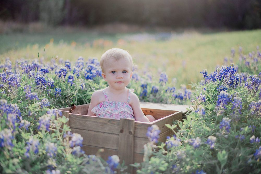 Austin Portrait Photographer First Birthday Session Texas Wildflowers Bluebonnets030.jpg