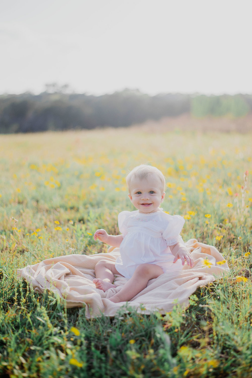 Austin Portrait Photographer First Birthday Session Texas Wildflowers Bluebonnets033.jpg