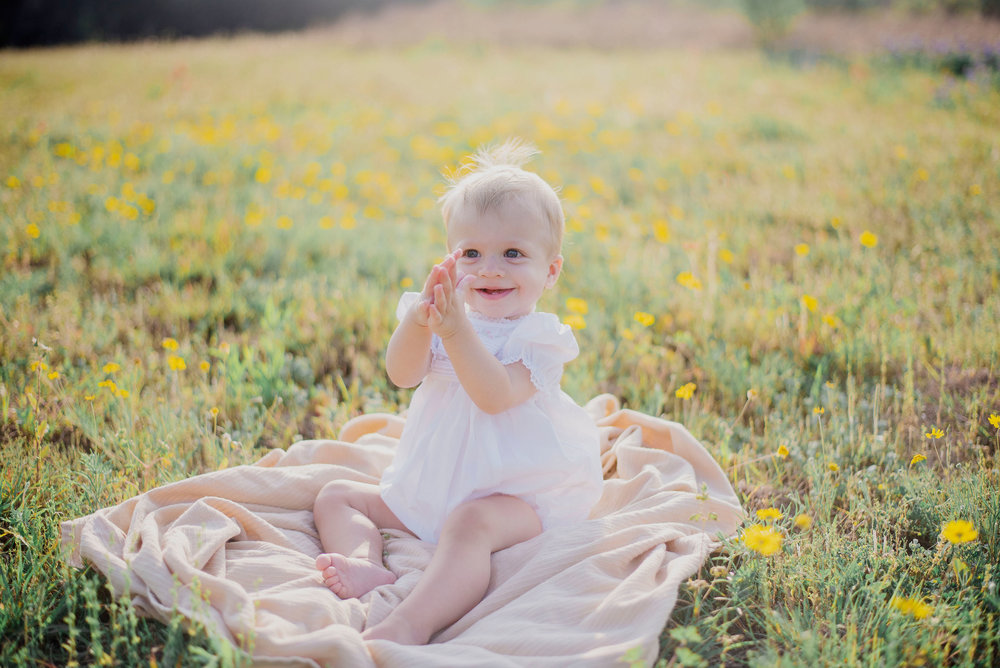 Austin Portrait Photographer First Birthday Session Texas Wildflowers Bluebonnets034.jpg