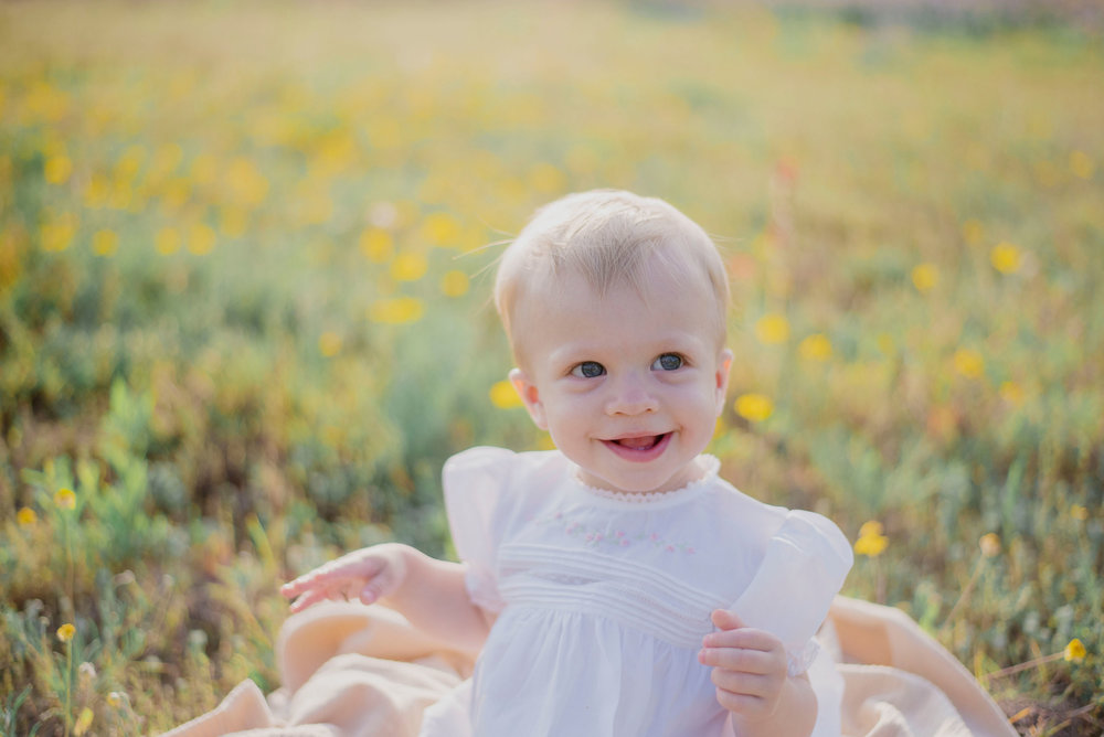 Austin Portrait Photographer First Birthday Session Texas Wildflowers Bluebonnets038.jpg