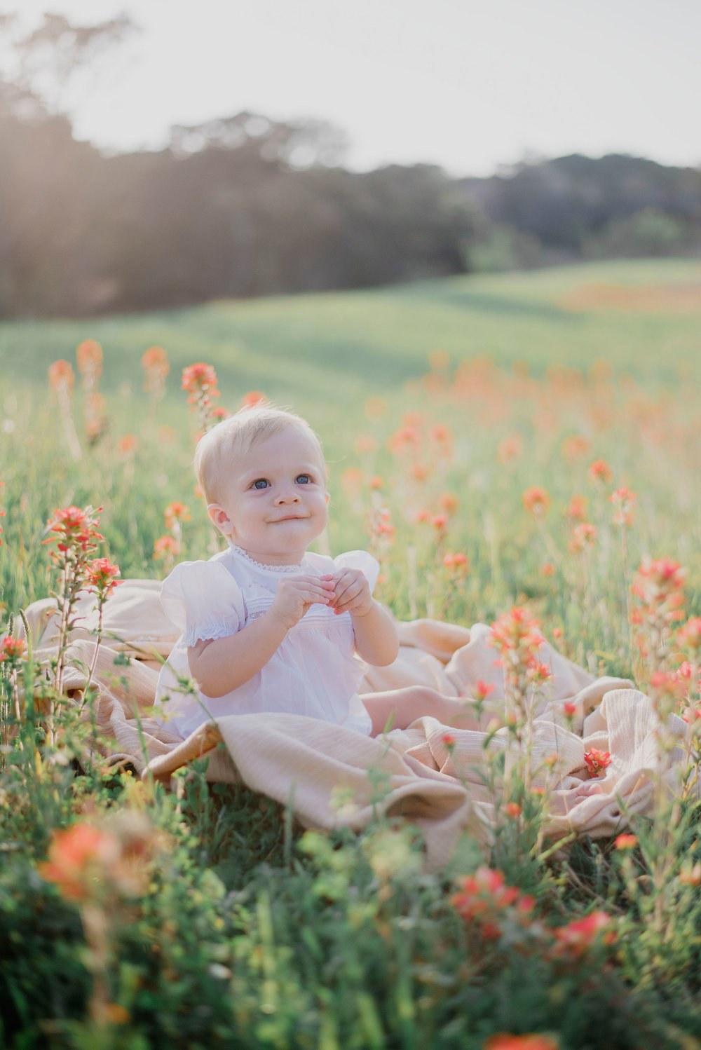 Austin Portrait Photographer First Birthday Session Texas Wildflowers Bluebonnets052.jpg