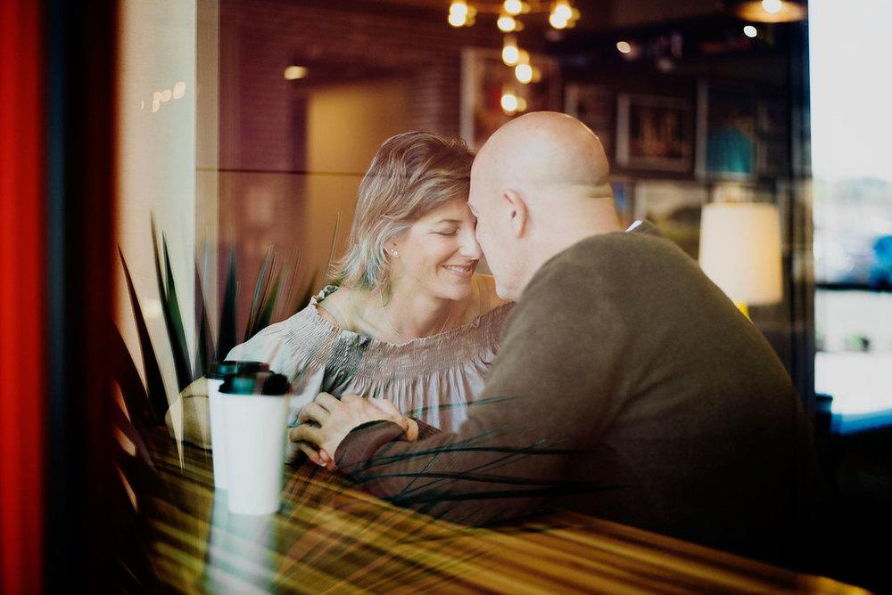 Austin Wedding Photographer Coffee Shop Engagement Session Verrado Coffee Co Arizona008.jpg