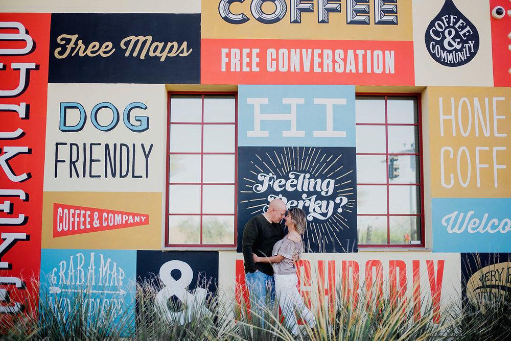 Austin Wedding Photographer Coffee Shop Engagement Session Verrado Coffee Co Arizona038.jpg