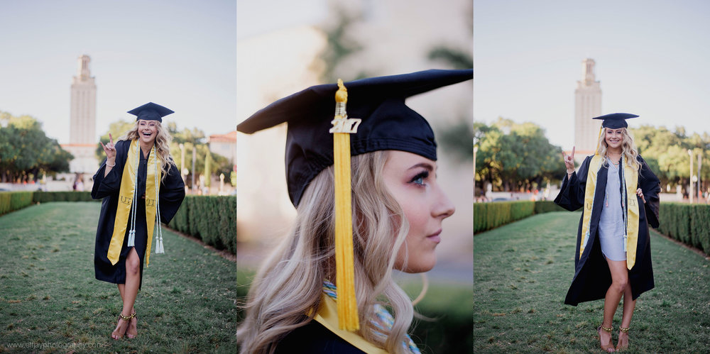 University of Austin Graduate Photos Austin Senior Photographer on campus017.jpg