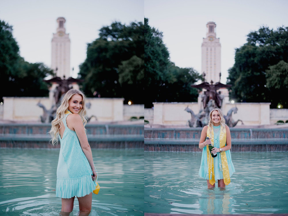 University of Austin Graduate Photos Austin Senior Photographer on campus113.jpg