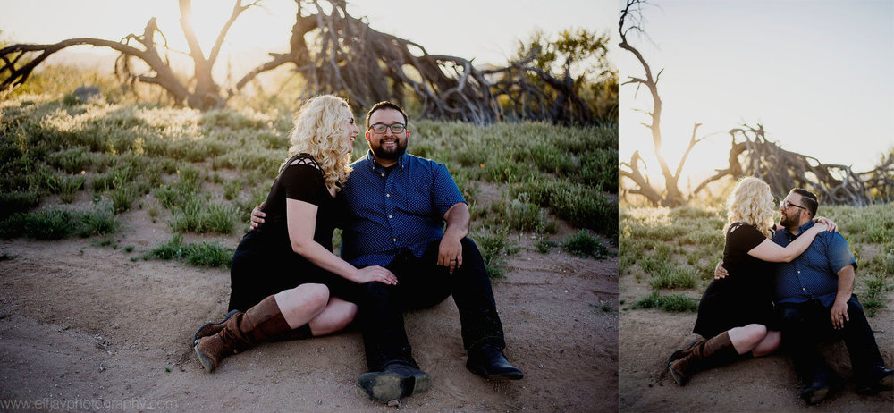 Austin Wedding Photographer Destination Arizona Desert Engagement Session009.jpg