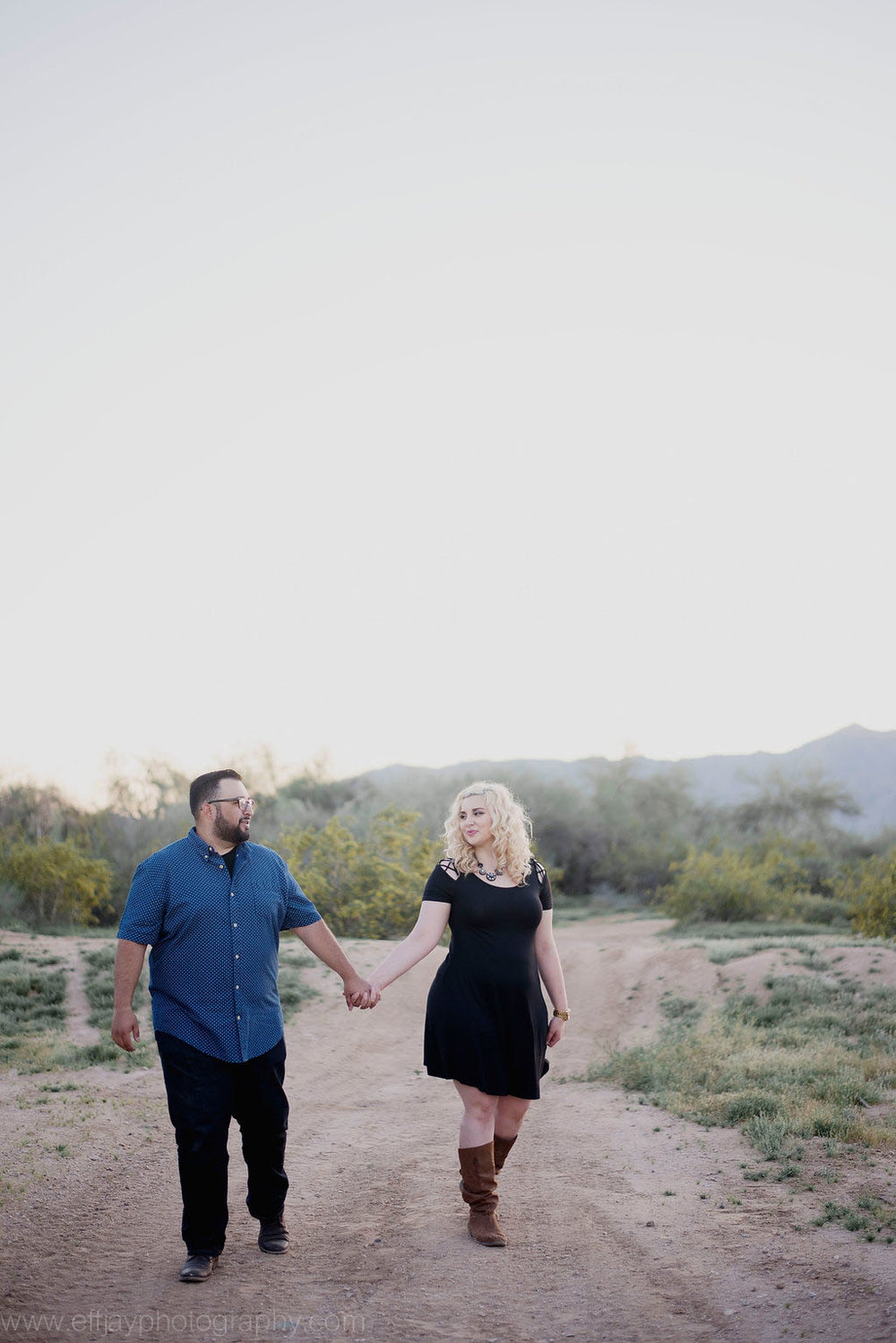 Austin Wedding Photographer Destination Arizona Desert Engagement Session012.jpg