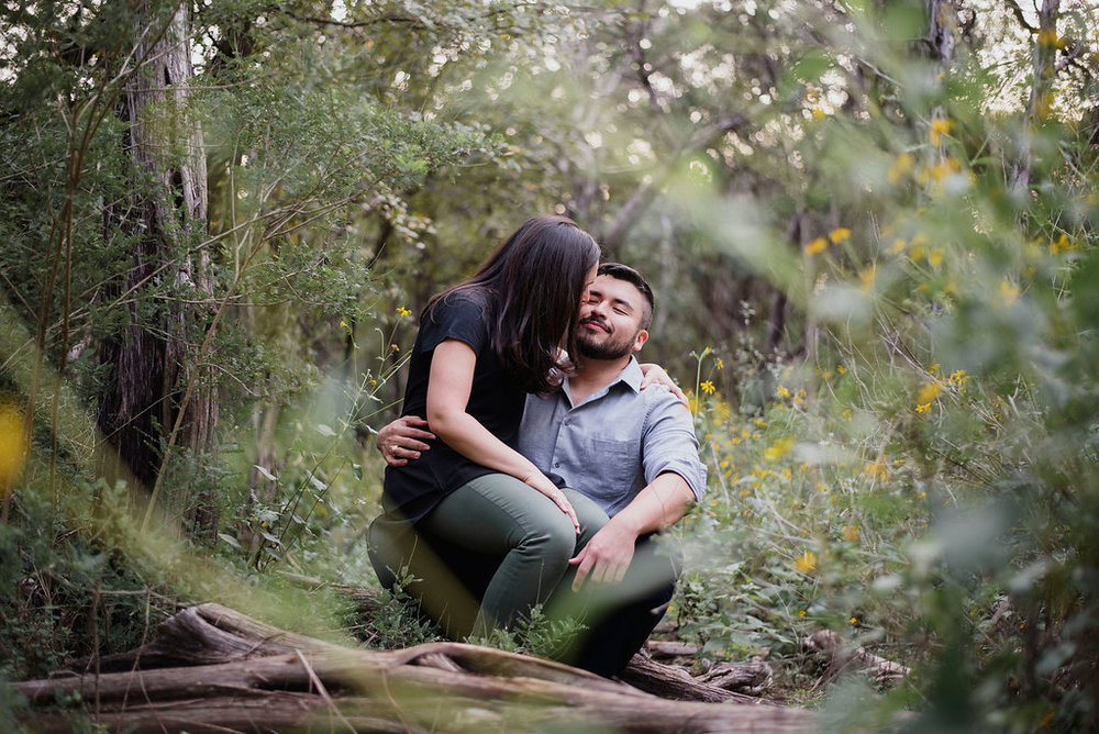 Austin Wedding Photographer Mayfield Park Engagement Session EffJay Photography Authentic004.jpg