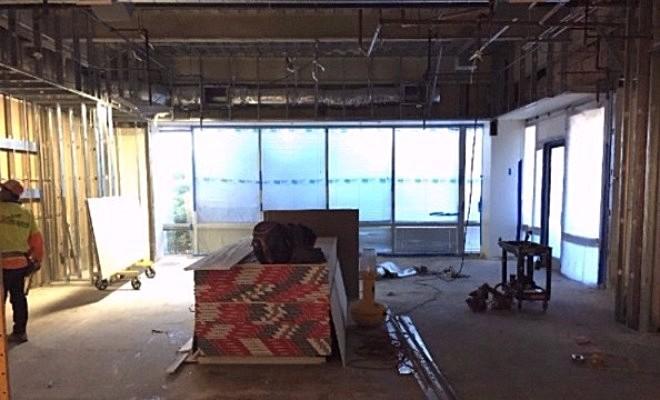 Break Room Under Construction