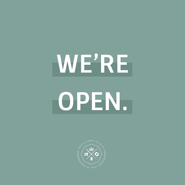 ✨We're OPEN ✨ Come shop from 50+ local artisans at 99 Sudbury St., we'll be open until 5PM! #SupportLocal #HolidayMarket ⛄️🎄🎅🏼 . . . We also have @cityofsweets_ @potrol.ca and @soukhofficial joining us today. Make sure to check them out!