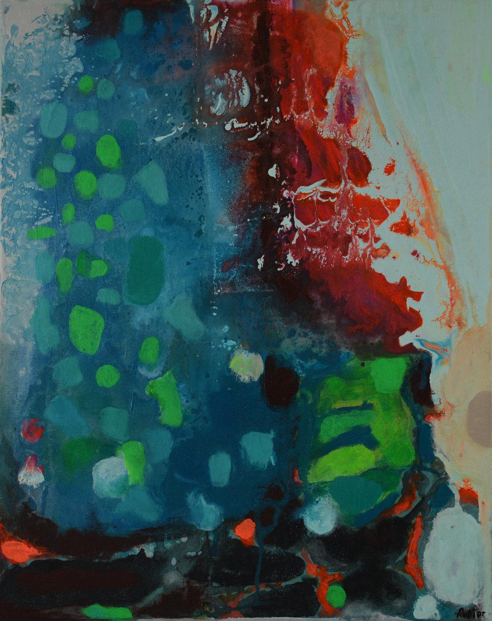 "20x16""  Acrylic on canvas  Original $200.00"
