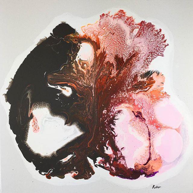 "20x20""  Acrylic on canvas  Original $375.00"