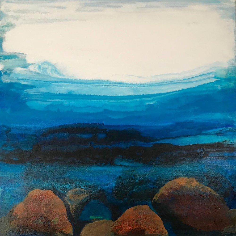 30x30''  Acrylic on canvas