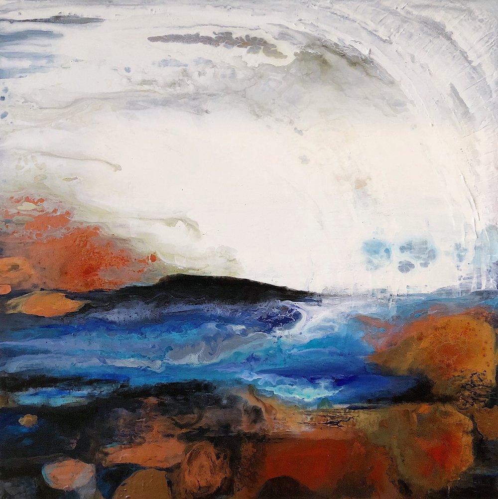 30x30''  Acrilyc on canvas