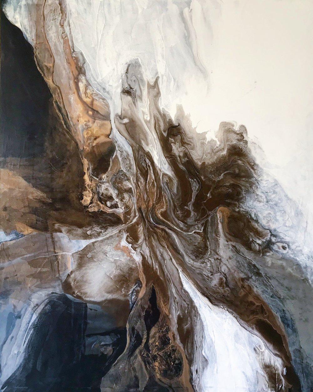 48x60''  Acrylic on canvas  $4,000