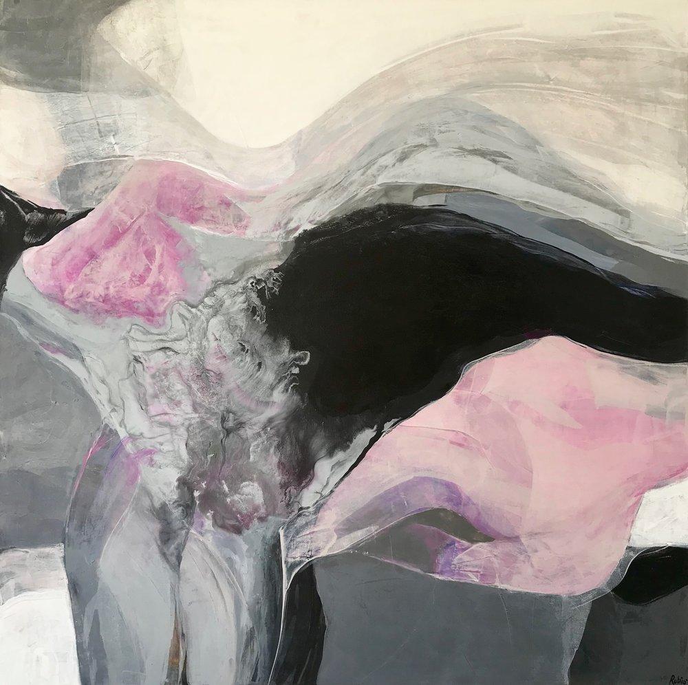 48x48''  acrylic on canvas  $2,300