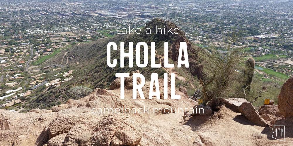 Hike | Cholla Trail | Phoenix — Arizona Hikers Guide Phoenix Hiking Trails Map on