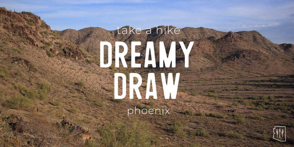 Hike | Dreamy Draw | Phoenix — Arizona Hikers Guide Dreamy Draw Trail Map on