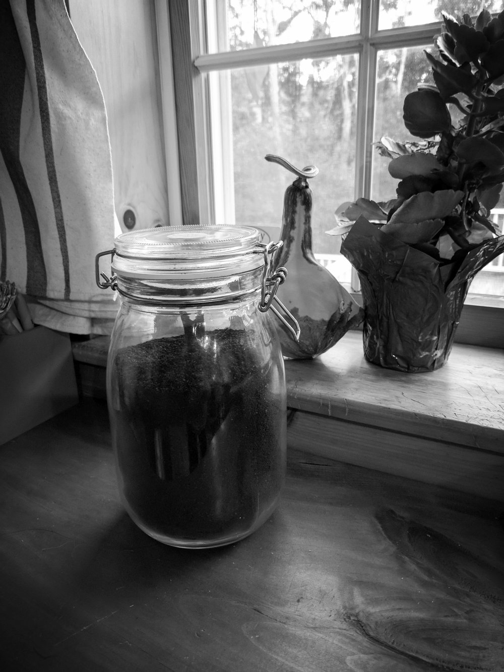 self care through a jar of coffee  [Rising Tide Women's Whole Life Wellness]