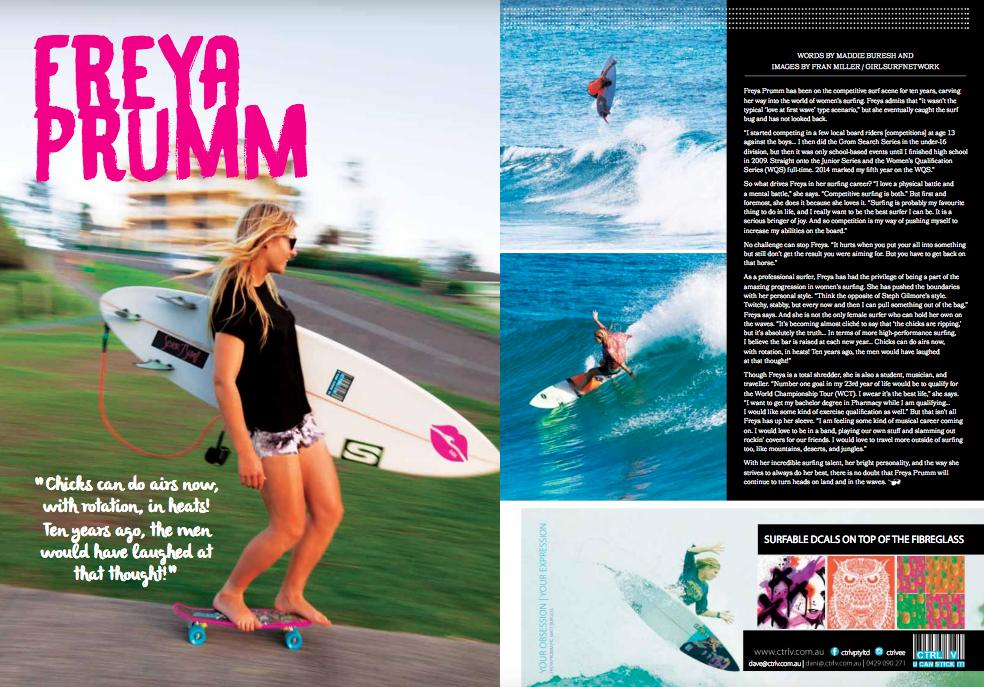 Freya Prumm Sunshine Surf Girls