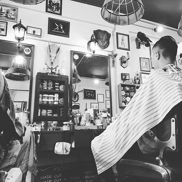 Get the hair did ✂️💈🇹🇭#chiangmai #thecutler