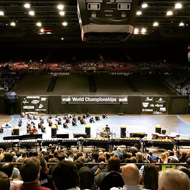 Congrats to @unitedpercussion  on an awesome finals performance. What a sight! 🆙💯