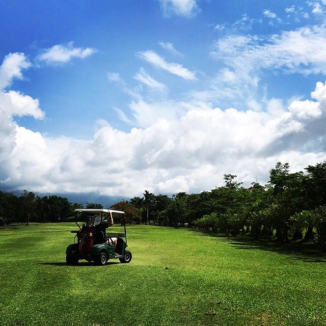 My Happy Place....one of them, at least 🌤 ⛳️🏌️🏻‍♂️ . . . . #amazingthailand #golf #beautiful #happyplace