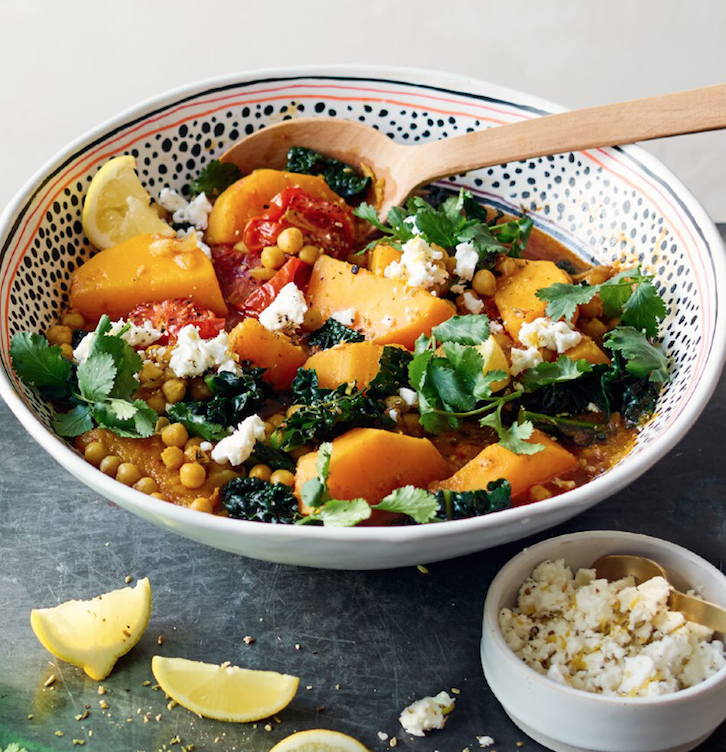 Bbc good foodmoroccan chickpea squash kale stew romilly newman bbc good foodmoroccan chickpea squash kale stew forumfinder Image collections