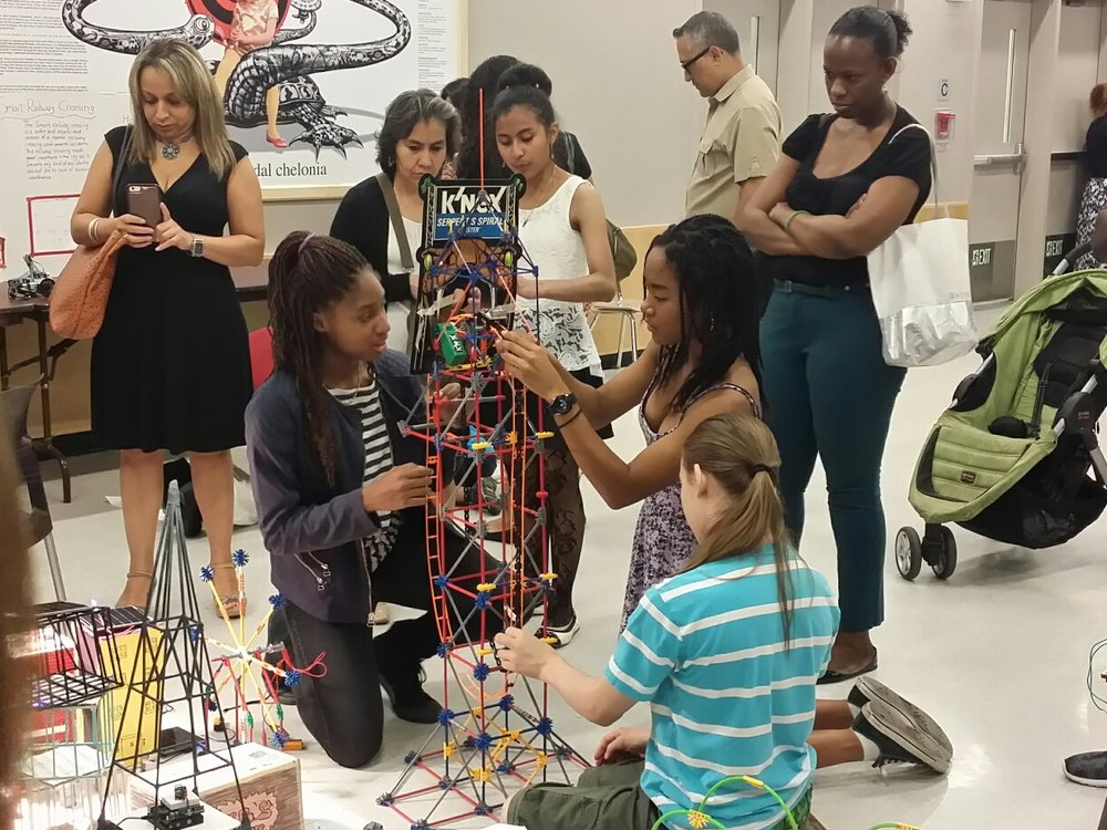 "Students build ""Smart"" cities in the DOE's Summer STEM program."